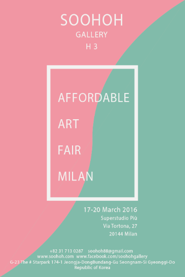 2016 Affordable Art Fair Milan